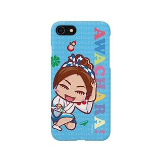 浮助連①スマホケース(阿波キャラ) ス Smartphone cases