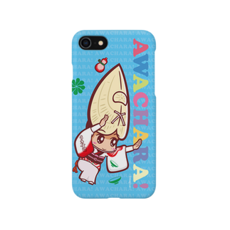 徳島 阿波キャラ!有名連の浮助連②スマホケース(阿波キャラ)  Smartphone cases