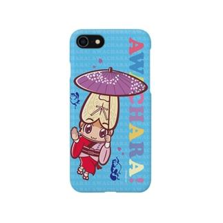 阿波連①スマホケース(阿波キャラ)  Smartphone cases