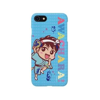 阿波連②スマホケース(阿波キャラ)  Smartphone cases