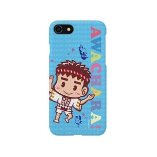 阿波連③スマホケース(阿波キャラ)  Smartphone cases