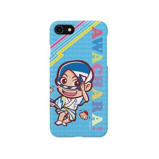ゑびす連③スマホケース(阿波キャラ)  Smartphone cases
