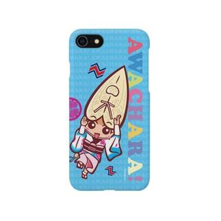 葵連②スマホケース(阿波キャラ)  Smartphone cases