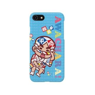娯茶平③スマホケース(阿波キャラ)  Smartphone cases