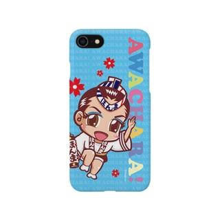 ほんま連①スマホケース(阿波キャラ)  Smartphone cases