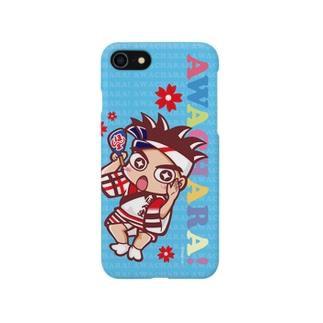 ほんま連③スマホケース(阿波キャラ)  Smartphone cases