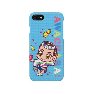 酔狂連①スマホケース(阿波キャラ)  Smartphone cases