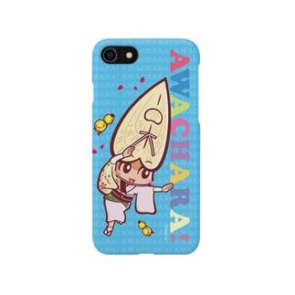 酔狂連②スマホケース(阿波キャラ)  Smartphone cases