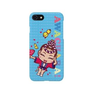 酔狂連③スマホケース(阿波キャラ)  Smartphone cases