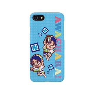 まんじ連②スマホケース(阿波キャラ)  Smartphone cases