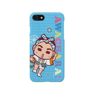 みやび連③スマホケース(阿波キャラ)  Smartphone cases