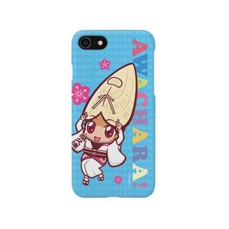 悠久連①スマホケース(阿波キャラ)  Smartphone cases