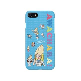 リサと宇宙人(阿波キャラ) Smartphone cases