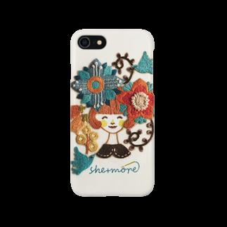 シーモア(she+more)の(iphone)こんにちは!シーモア Smartphone cases