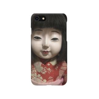嗤う市松  Smartphone cases
