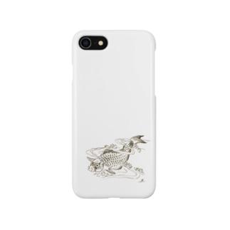 Poisson dans une vague.:波の中の魚。(b14506646) Smartphone cases
