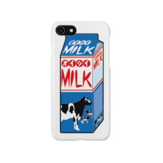 牛乳パック Smartphone cases