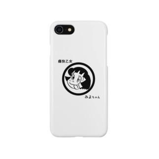痛快乙女みよちゃんアイコン Smartphone cases