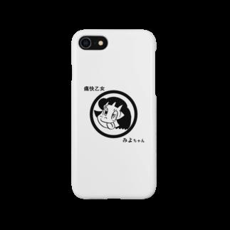 asitamoの痛快乙女みよちゃんアイコン Smartphone cases