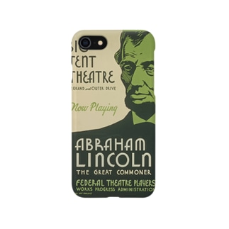 Vintage Abraham Lincoln Poster:ヴィンテージ・エイブラハム・リンカーンポスター Smartphone cases
