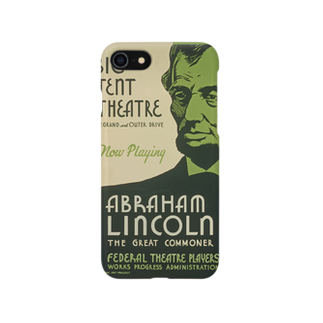 PD selectionのVintage Abraham Lincoln Poster:ヴィンテージ・エイブラハム・リンカーンポスター Smartphone cases