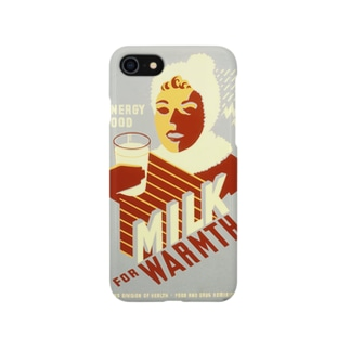 Vintage Milk Poster:ヴィンテージ・ミルクポスター Smartphone cases