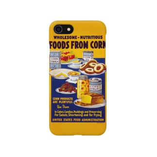 Foods From Corn:トウモロコシからの食品 Smartphone cases