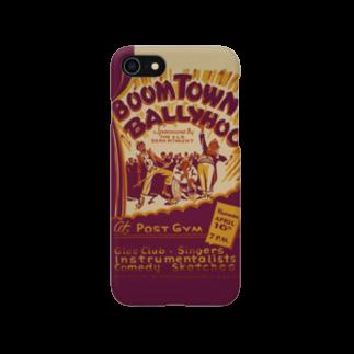 PD selectionのBoomtown Comedy Vintage Poster:ブームタウンコメディ ビンテージポスター スマートフォンケース