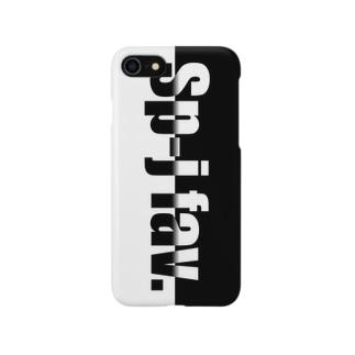Sp-j fav.はんぶんこ Smartphone cases