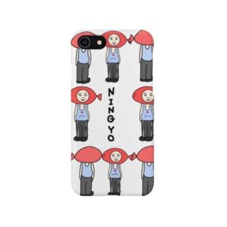 人魚が多い Smartphone cases