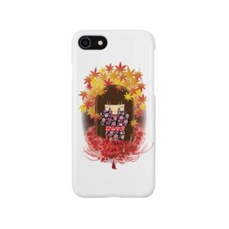 曼殊沙華少女 Smartphone cases