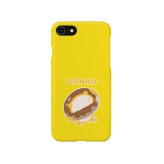ドーナツパンダ(イエロー) Smartphone cases