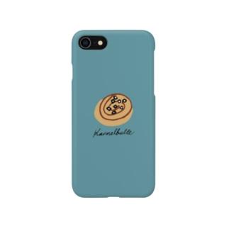Kanelbulle 青 Smartphone cases