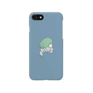 マフラーガール Smartphone cases