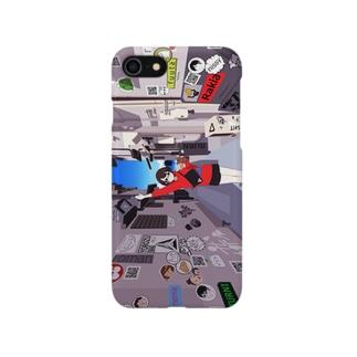 BUSSANのYOROZUYAのBUSACO WALK CASE Smartphone cases