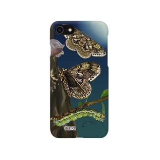 イボタガ Smartphone cases