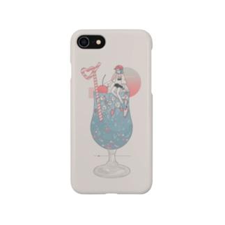 🍹丸眼鏡ソーダっ子🍹 Smartphone cases