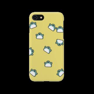ちょこぺんのちらばるドスコイペンギン Smartphone cases