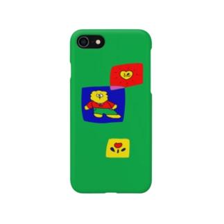 おやすみクラブの浮 Smartphone cases