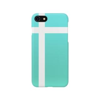 ティファニーブルー iPhoneケース Smartphone cases