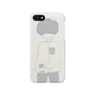 ましゅまろやろうくん Smartphone cases