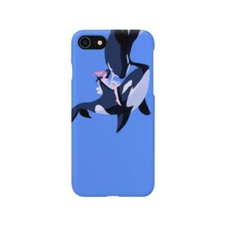 海中散泳 Smartphone cases