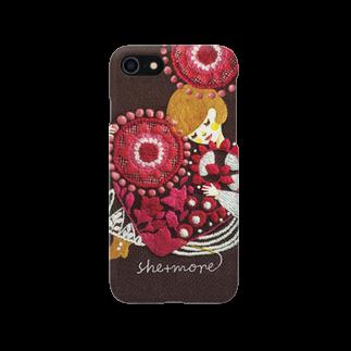 シーモア(she+more)の(iphone)love Smartphone cases