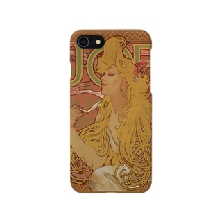 アルフォンス・ミュシャ JOB Smartphone cases