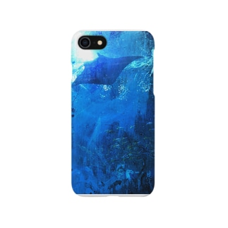 Swimming with MANTA  Smartphone cases