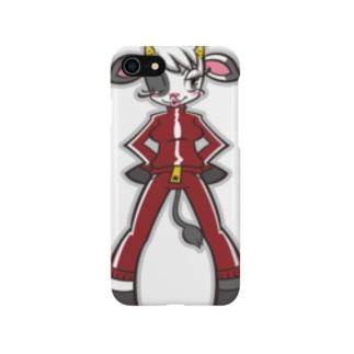 ジャージウシコ Smartphone cases