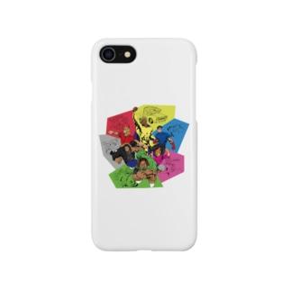 スマホケース(グーレンジャーズ) Smartphone cases