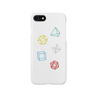 Regular Polyhedron スマートフォンケース