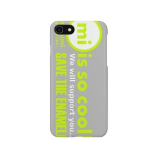 marumi × SAVEtheENAMEL Smartphone cases