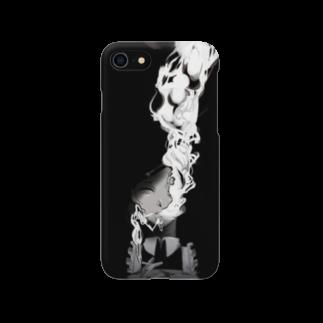 UNICA/ユニカのタバコ吸ってるメイドさん Smartphone cases